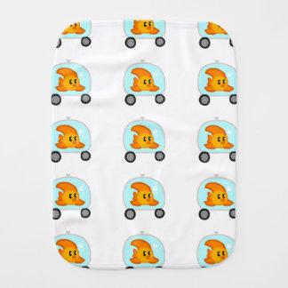 Fish 2.0 Baby Burp Cloth