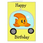Fish 2.0 Birthday Card