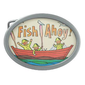 Fish Ahoy! Belt Buckles
