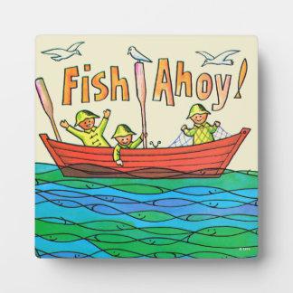 Fish Ahoy! Display Plaques