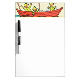 Fish Ahoy! Dry Erase Board