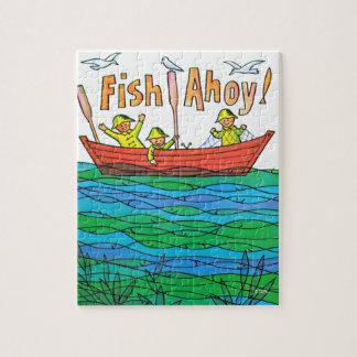 Fish Ahoy! Jigsaw Puzzle