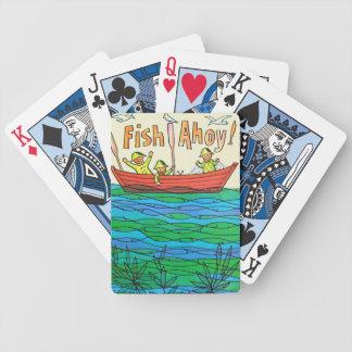 Fish Ahoy Bicycle Card Decks