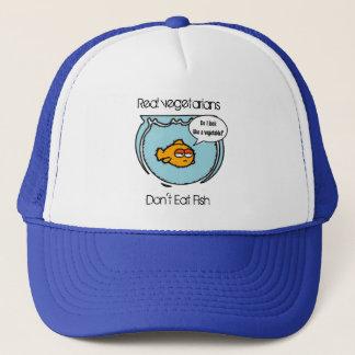 Fish Ain't Veggie Hat