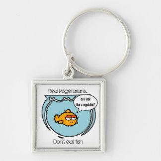 Fish Ain't Veggie Key chain