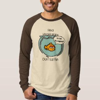 Fish Ain't Veggie Long Sleeve T-shirt