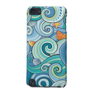 Fish Among The Waves Pattern iPod Touch 5G Cover