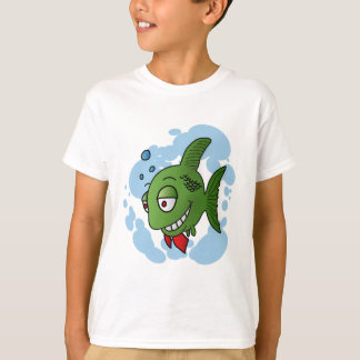 Fish and bubbles T-Shirt