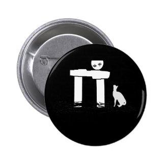 Fish and Cat Pins