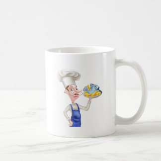 Fish and Chips Chef Coffee Mug