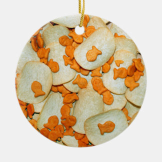 Fish And Chips Christmas Ornament