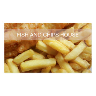 Fish And Chips Restaurant Business Card