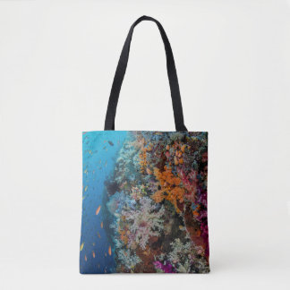 Fish and Coral Reef Scenic Tote Bag