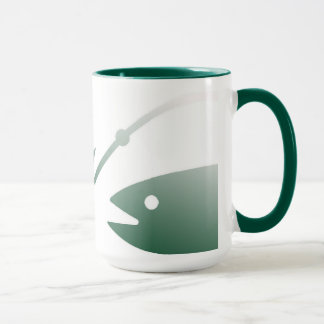 Fish and Hook Coffee Mug