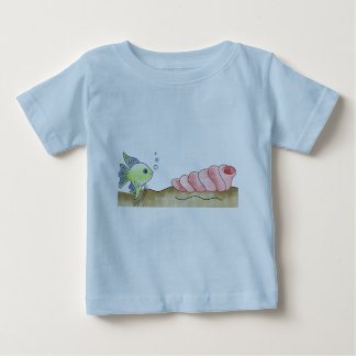 Fish and Seashell Baby T-Shirt