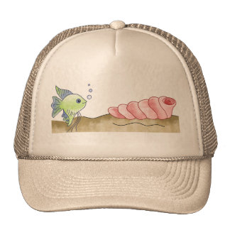 Fish and Seashell Cap