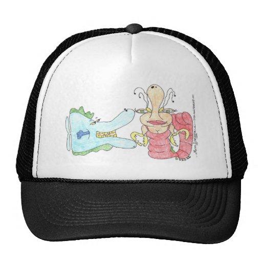 Fish and Shrimp by Miss Shrimpie Hat