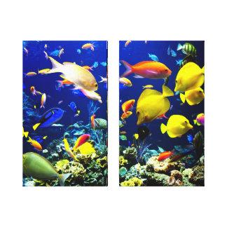 Fish Aquarium Canvas Print