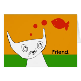 Fish are Friends Notecard