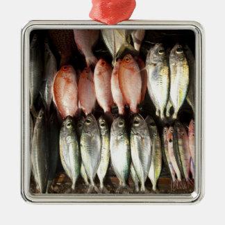 Fish at market, town of Kalabahi, Alor Island, 2 Ornaments