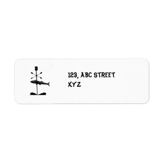 fish Avery Label Return Address Label