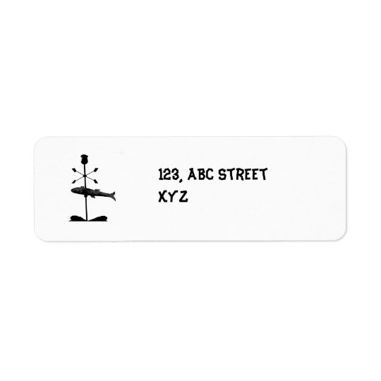 fish Avery Label Return Address Label