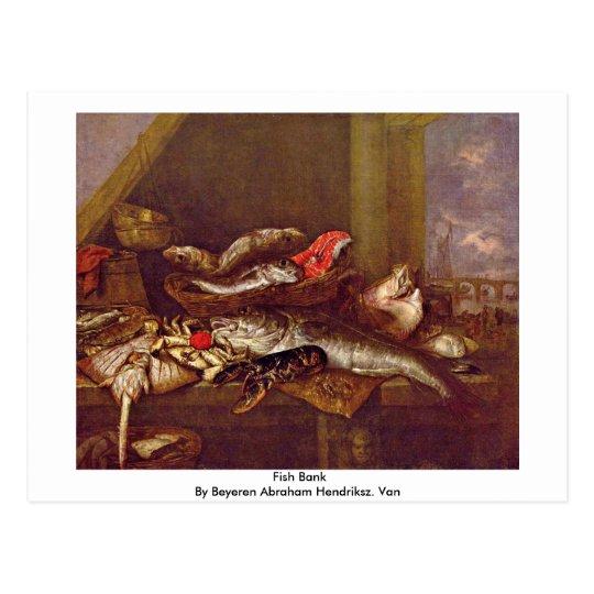 Fish Bank By Beyeren Abraham Hendriksz. Van Postcard
