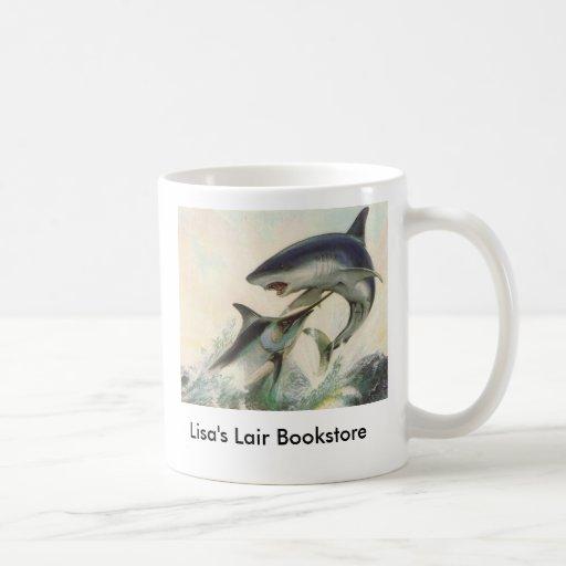 Fish - Black Marlin & Mako Shark Bookstore Promo Coffee Mugs