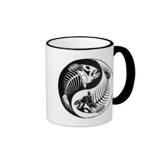 Fish Bone Yang Coffee Mug