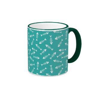 Fish Bones Ringer Mug