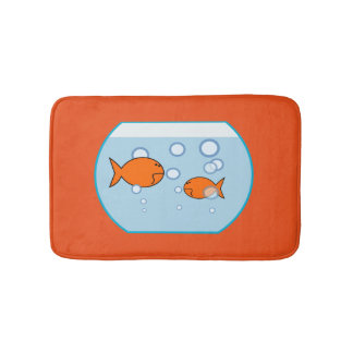 Fish Bowl Bath Mat Bath Mats