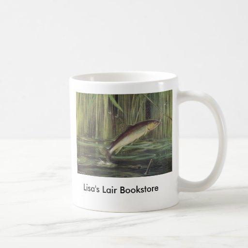 Fish - Brown Trout - Salmo trutta Bookstore Promo Coffee Mugs