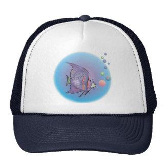 FISH BUBBLE by SHARON SHARPE Cap