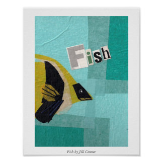 Fish by Jill Connor Poster