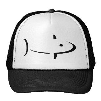 fish mesh hat