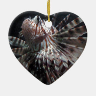 fish ceramic heart decoration