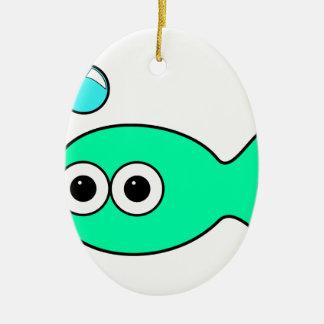 Fish Christmas Ornament