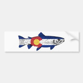 Fish Colorado Bumper Sticker