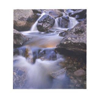 Fish Creek Falls near Steamboat Springs Colorado Notepad