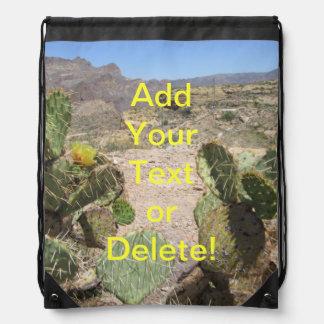 Fish Creek Hill Vista Prickly Cactus Rucksacks