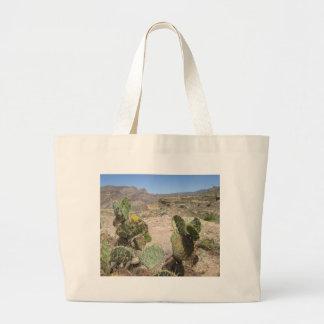 Fish Creek Hill Vista Prickly Cactus Jumbo Tote Bag