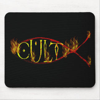 Fish Cult Mouse Pad