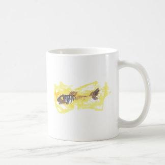Fish Design - Red Theme Basic White Mug