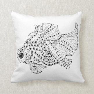 Fish Doodle Cushion