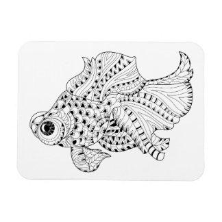 Fish Doodle Magnet