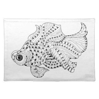 Fish Doodle Placemat