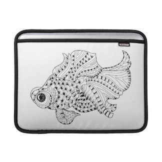Fish Doodle Sleeve For MacBook Air
