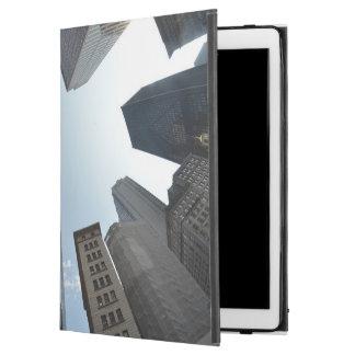 "Fish-eye lens of building, Boston, US iPad Pro 12.9"" Case"