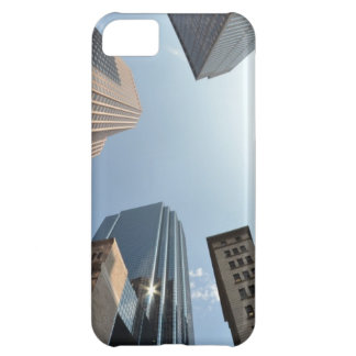 Fish-eye lens of building, Boston, US iPhone 5C Case