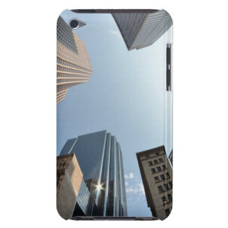 Fish-eye lens of building, Boston, US iPod Case-Mate Cases